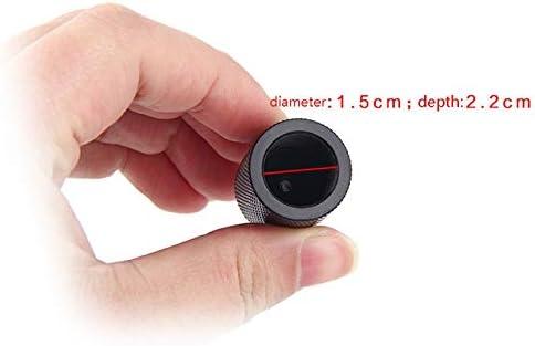 Adaptateur en Alliage daluminium 5//8 /à 1//4 vis de Conversion de convertisseur de Microphone pour Microphone Conversion de Trois adaptateurs de tr/épied Portable Noir