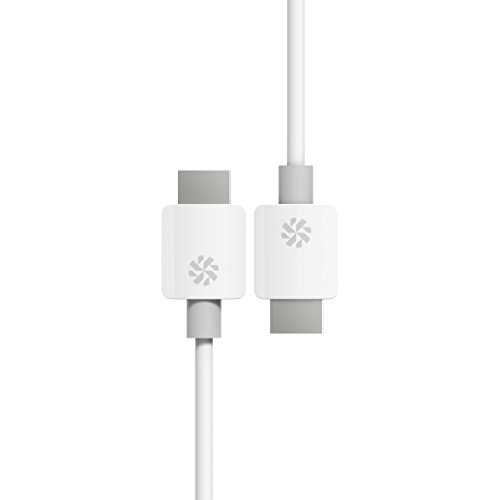 - Kanex High Speed HDMI Cable, 19 inches/0.5 Meters-White