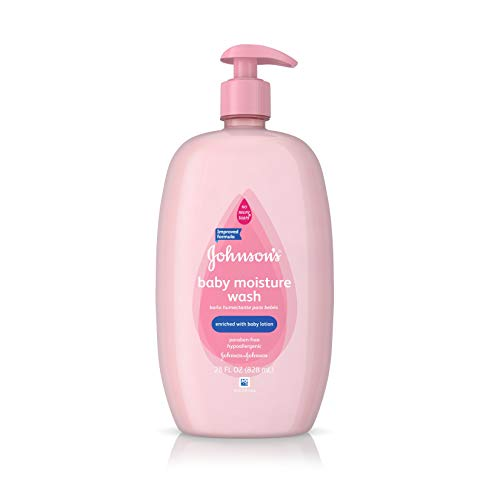 Johnson's Baby Moisture Care Wash To Soften Skin, 28 Oz.