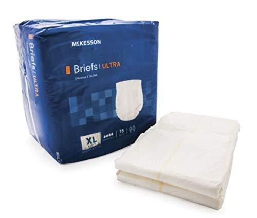 BRIEF ULTRA BRTHABL XLG 15EA/BG 4BG/CS MCK BRAND