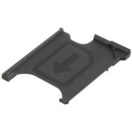 MMOBIEL Soporte Ranura de Bandeja de Tarjeta Micro Sim Repuesto Compatible con Sony Xperia Z1 L39H Lh36i L39t C6903 C6902 Z1 Compact M51w D5503 ...