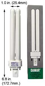 (Case of 30) Double Twin Tube Compact Fluorescent Lamps | F26DTT/835/G24D-3