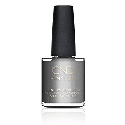 CND Vinylux Weekly Nail Polish, Silver Chrome, .5 oz