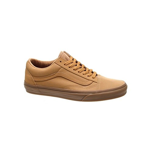 a65cd7d806011a Galleon - Vans Unisex Old Skool (Vansbuck) Light Gum Mono Skate Shoe 10.5  Men US   12 Women US