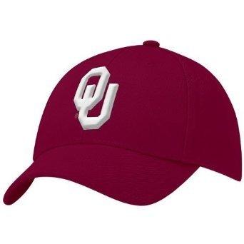 Nike Oklahoma Sooners Crimson Swoosh Flex-Fit Hat
