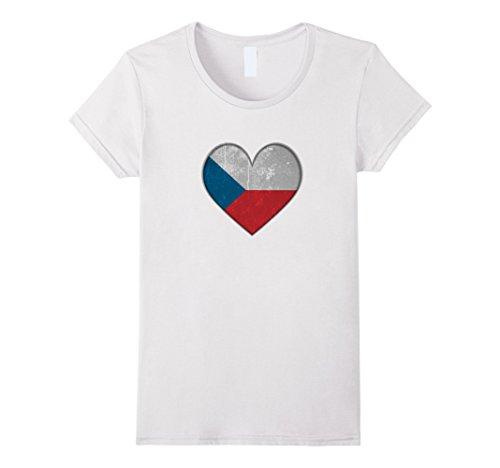 Czech Republic Flag Heart - 4