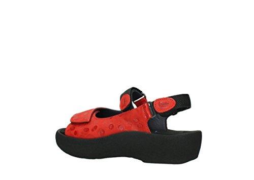 Sandaler Røde Kvinners Wolky Juvel Skinn wgtnxqaU
