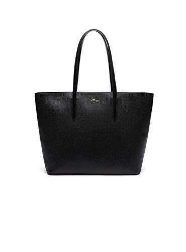 Borsa Nero Shopper Lacoste Donna Pique Nera wYv8HxfH