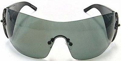 387b66e8faef Ed Hardy Brad Sunglasses EHS-008 Black Solid Grey - Buy Online in ...