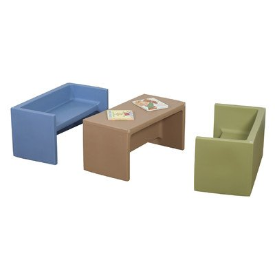 3-Pc Cozy Woodland Adapta Benches by Children's Factory
