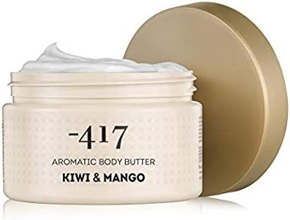 -417 Dead Sea Cosmetics Aromatic Kiwi & Mango Body Butter Nourishes & relaxes the skin - Protecting from UV Radiation - preventing Skin Aging - With Shea Butter & Aloe Vera - All Natural 8.4 oz