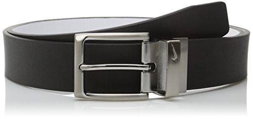 Nike Black Belt (Nike Men's Reversible Dress Belt, Black/White,)