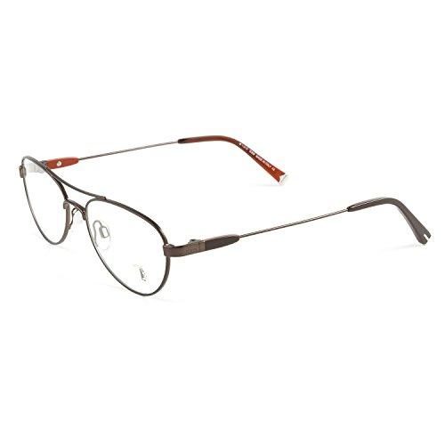 Tod's Metal Aviator Eyeglass Frames TO5006 52mm Shiny -