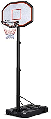 Amazon.com: Giantex - Aro de baloncesto portátil de 10 pies ...