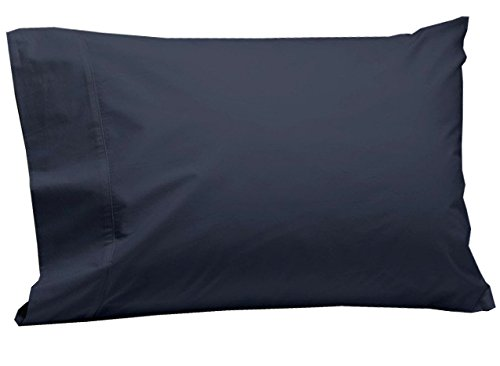 Coyuchi  Organic 220 Percale Pillowcase, Standard/Queen - French Blue (Case Pillow Percale 220)