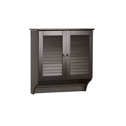 RiverRidge Home Ellsworth Collection 2-Door Wall Cabinet, Espresso (Medicine Cabinet With Towel Bar)