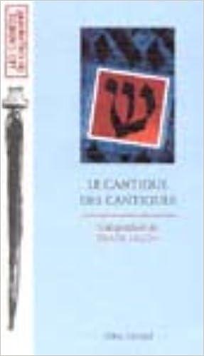 Livre gratuits en ligne Le Cantique des Cantiques epub, pdf