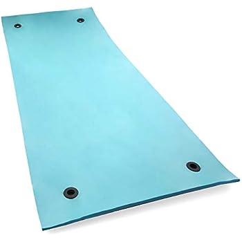 Amazon Com Floatdaddy 3 Ply Foam Lake Swim Mat Super