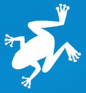 FROG STENCIL Snazaroo Face Painting Stencil
