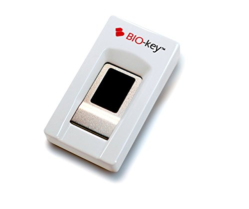 Secure Finger Scanner (BIO-key EcoID Fingerprint Reader - Tested & Qualified by Microsoft for Windows Hello - Eliminate Passwords on Windows 7/8.1/10 - Includes OmniPass Online Password Vault with Purchase)