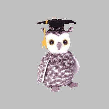 68202becc5d Amazon.com  Ty Beanie Babies - Smart the Owl  Toys   Games