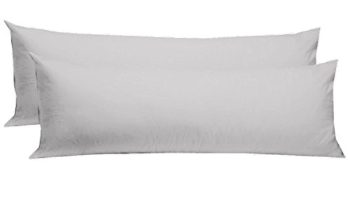 Cotton Craft - 2 Pack Body Pillow Cover Protector - 220 TC T