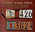 """6"""" x 18"""" Frame Kit for Earthtones Ceramic Designer & Address Tiles"""