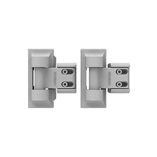 - Boerboel Gate Solutions 73025512 Standard Wrap Hinge, White