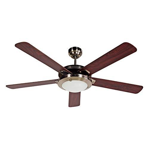BLACK+DECKER BCF5211R Ceiling Fan, Brown