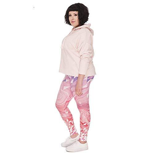 Triángulos Tallas Chicos Leggings Pink Tamaño Estiramiento Lgd45762 Yoga Clásico Regordetas Moda Grandes Impresos De Gran Pantalones Marble Mujeres xwBPAgqYY
