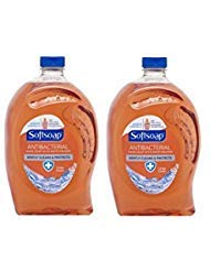 Softsoap Antibacterial Hand Soap with Moisturizers Refill, Crisp Clean 56 fl oz (2 ()