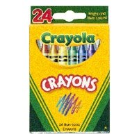 (Binney & Smith Crayola(R) Standard Crayon Set, Tuck-Box, Assorted Colors, Box Of 24in.)