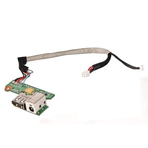 HP DV6000 DV6500 G6000 F500 65W Laptop DC In Power Board with USB DAOAT8TB8F ()