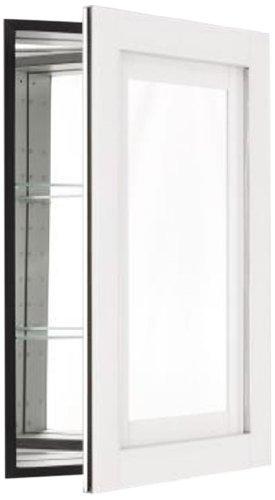 Robern CB-MT20D4CDWN Candre Medicine Cabinet, White