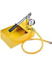 Pressure Test Pump: Water Pressure Test Pump Hand Pump Test Tool Hydraulic Testing Tool Test Pumps (Ramdon Tube Color)