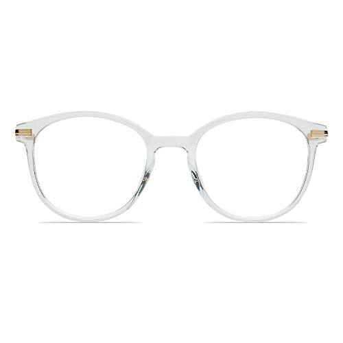 Light Blue Glass - Blue Light Blocking Glasses Transparent Eyeglasses Frame Anti Blue Ray Computer Game Glasses
