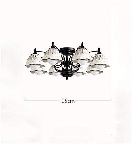 WHKHY Cerámica Lobby Comedor Dormitorio Colgante Pastoral Minimalista como Lobby Colgantes Colgantes Colgantes Bohemia...