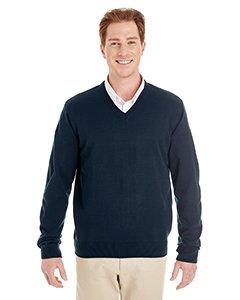 Sweater Vest Performance V-neck (Harriton Mens Pilbloc V-Neck Sweater (M420) -DARK NAVY -6XL)
