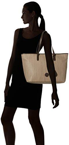 Tb0m5559 Beige A Shopper Scura Borse gomma E Tracolla Timberland Donna 4dPqvPw1