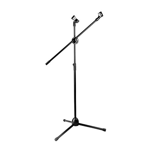 """Neewer NW-107 Folding Type Adjustable 31""""-52""""/79cm-132cm Microphone Tripod Boom Floor Stand with Clip by Neewer"""