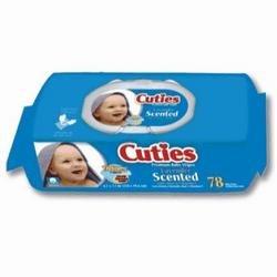 Dukal BWU4024 Dawn Mist Baby Wipe, Non-Sterile, Unscented, 7