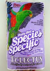 Pretty Bird Eclectus Species Specific Pelleted Mixes 3-lb bag, My Pet Supplies