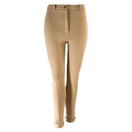 Harry Hall Chester – para mujer pantalones de montar para mujer pantalones pantalones super elástico Beige