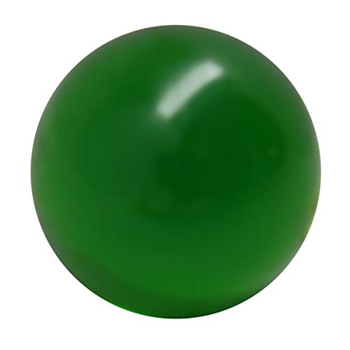 70mm Green Acrylic Juggling Ball for Contact Juggling | Great for Beginners and Professionals ()