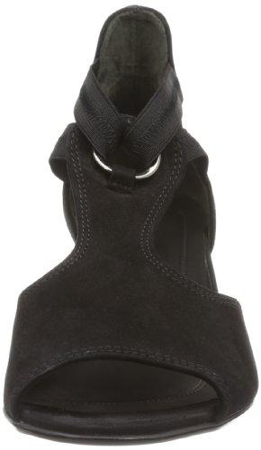 Gabor Shoes Gabor Comfort 86.561.47, Sandali Donna, Nero (Schwarz (schwarz)), 37