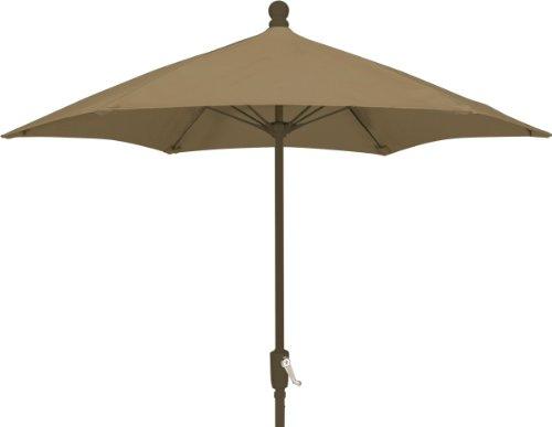 Fiberbuilt Umbrellas Patio Umbrella, 9 Foot Beige Canopy ...