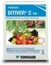 Fungicida cúprico de acción preventiva DITIVER C PM (1x40g) contra mildiu, Alternaria, Antracnosis...
