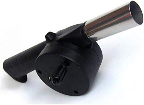 yaoyan Ventilateur de Ventilateur de Barbecue Cuisson en Plein air pour Outil de manivelle à Soufflet de feu de Barbecue