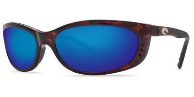 Costa Del Mar Fathom Cord, Tortoise, Blue Mirror 580G - Fathom 580 Costa Del Mar