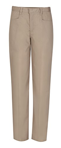 CLASSROOM Juniors Low Rise Pant, Khaki, 7/8